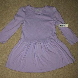 Toddler girls purple dress